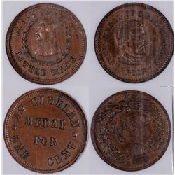 Civil War Tokens: George McClellan  [129199]