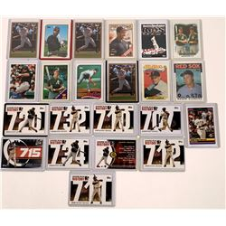 Bonds, McGwire Topps Cards  [129790]