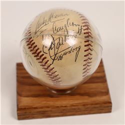 Baseball With Several Player Autographs  [131132]