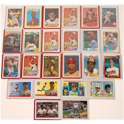 Hall of Fame Player Topps Cards  [129791]