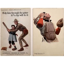 Robinson & Rockwell Postcard Illustrations  [125931]