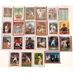 Topps Players' Cards From 1980's & 2000's (21)  [129794]