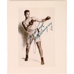 Boxer Jack Dempsey Autographed Photo  [127436]
