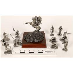 Chilmark & Hudson Pewter Sculptures (12)  [131338]