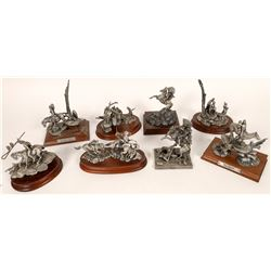 Chilmark Pewter Indian Themed Sculptures (8)  [131331]