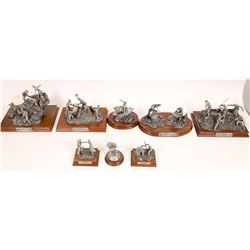 Pewter Sculptures, Civil War Group 1 - 8 pcs  [131903]