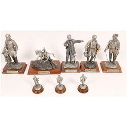 Pewter Sculptures, Civil War Group 2 - 8 pcs  [131904]
