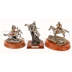 Remington Pewter Reproductions (3)  [131134]