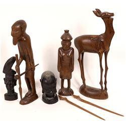 Carved Figures Botswana  [131426]