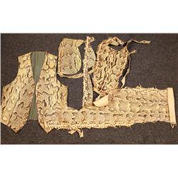 Python Skin Vest and Loin Cloths  [131433]