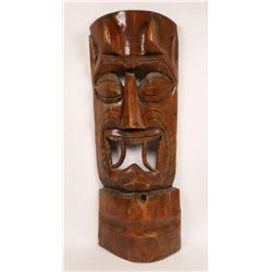 Large Wooden Mask  [131436]