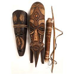 African Masks Quiver/Arrow  [131438]