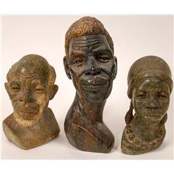Three Stone Busts  [131442]