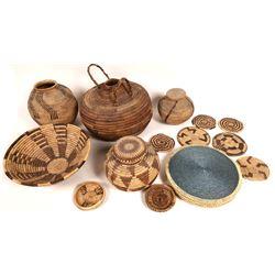 Baskets and Pot Mats  [131444]