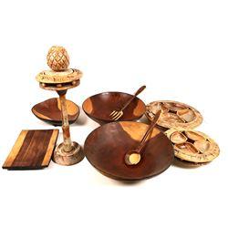 Tableware Wood Carvings   [131446]