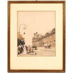 Pavillion De Flore Tuileres  [131509]
