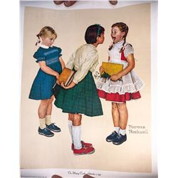 Norman Rockwell Giclee 1972, Curtis Publishing  [131291]