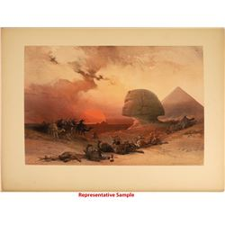 David Roberts Folio Lithographs of Egypt and the Holy Land, 1840s (42)  [129810]