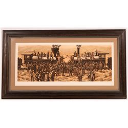 Framed CPRR Print and Western Print (2)  [131489]