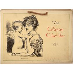 Calendar Art (The Gibson Calendar, Original)  [122491]