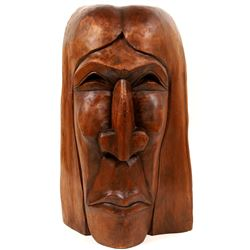 Carved Cedar Totem Figure Head, Pacific NW  [131279]