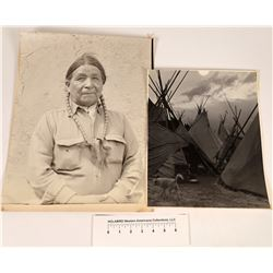 Two Very Large Native American Related Photographs  [123956]