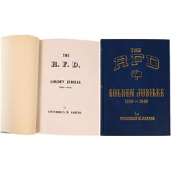 The RFD Golden Jubilee Book 1896-1946 Postal Service by author Gwendolyn M. Aabers  [129660]