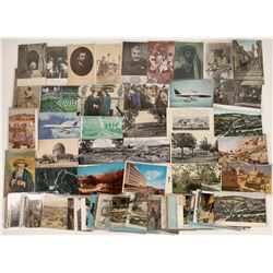 Holy Land & Jewish History Postcards ~79 pcs  [129394]