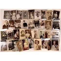 British Royalty Postcards ~ 55 RPCs  [129052]