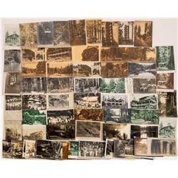 Camp Meeker, California Postcards ~ 65 pcs  [129049]