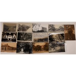 Cloverdale, Asti, and Healdsburg, California Postcards - 11 B&W  [129364]