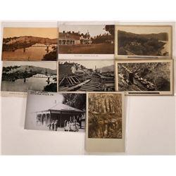 Duncan Mills, Sonoma Co., California Postcards - 6 B 2 Amber  [129368]