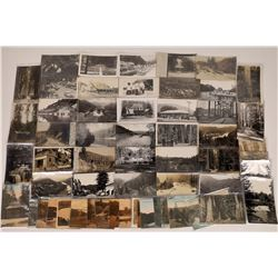 Guerneville, Sonoma Co., California Post Cards - 39 B 9 Chromo, 11 Amber  [129367]