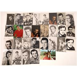 1950's & 60's TV & Movie Actor Postcards (26)  [128908]