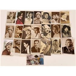 Actor & Actress Postcards from Silent and Early Talkie Era  (20)  [127799]