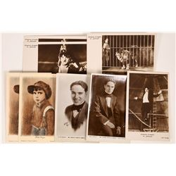 Charlie Chaplin Photo & Postcards (9)  [127489]