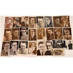 Comedians of 1920's & 1930's Postcards (20)  [127804]