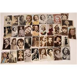 Hollywood Actress Postcards (35)  [127798]