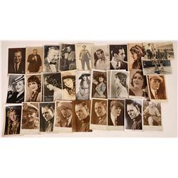 Hollywood Silent Star Postcards   [127803]