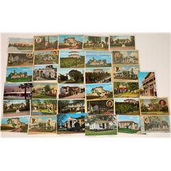 Postcards of Movie Star Homes (30)  [128913]