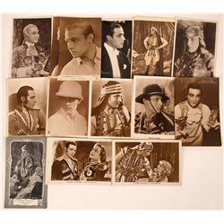 Rudolph Valentino Postcards (14)  [127488]