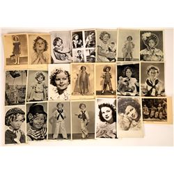 Shirley Temple Photos and Postcards (20)  [127487]
