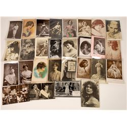 Silent Movie Era Starlets RPC's (28)  [127508]