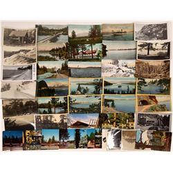 Lake Tahoe, California Postcards ~ 42 pcs  [129034]