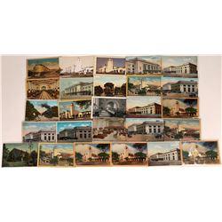 Los Angeles Railroad Scene Postcards (26)  [128933]