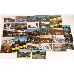 Los Gatos Hotel RPC's & Postcards (25)  [128920]