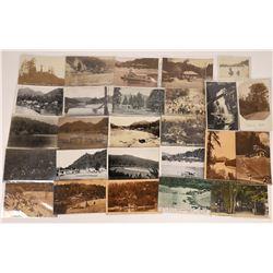 Monte Rio, Sonoma Co., California Postcards - 20 B&W, 4 Amber, 2 Color  [129370]