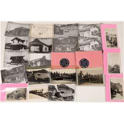 Mt Tamalpais RWY & NWP RR Postcards & Ephemera  [127709]