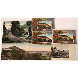 Mt Tam RWY Christmas  Greetings & Mail Cards (6)  [127712]