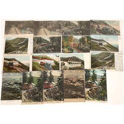 Mt. Tamalpais Chrome Processed Scenic Postcards (15)  [128995]